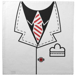 Kid cool tie design napkin