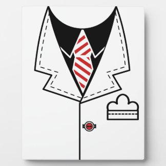 Kid cool tie design plaque