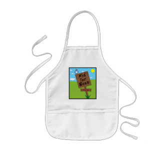 Kid for Rent Kids Apron