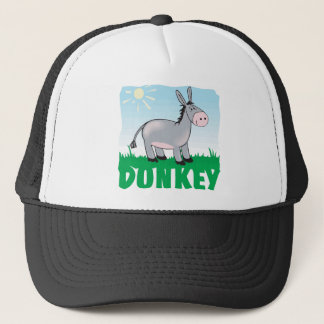 Kid Friendly Donkey Trucker Hat