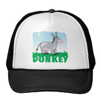 Kid Friendly Donkey Trucker Hat