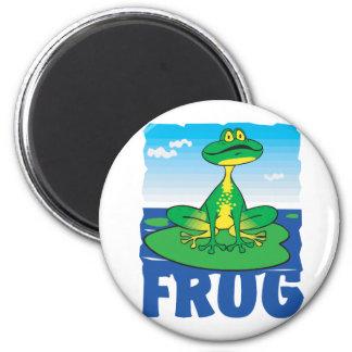 Kid Friendly Frog Magnet