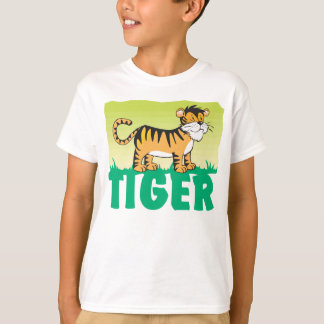 Kid Friendly Tiger T-Shirt