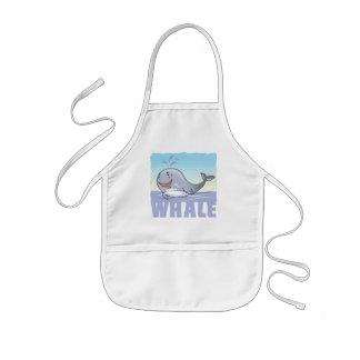 Kid Friendly Whale Kids Apron