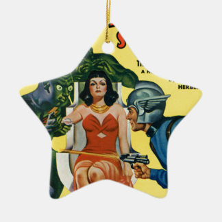Kid from Mars Ceramic Ornament