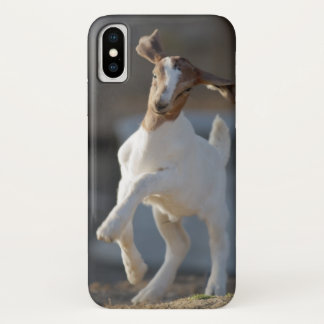 Kid Goat Playing iPhone X Case