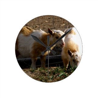Kid Goats Wallclock