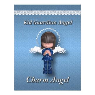 Kid Guardia Angel Letterhead Template