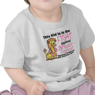 Kid In The Fight Against Breast Cancer T Shirts