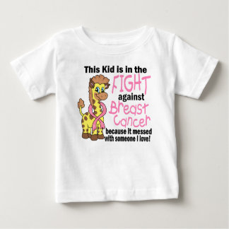 Kid In The Fight Against Breast Cancer Tshirts