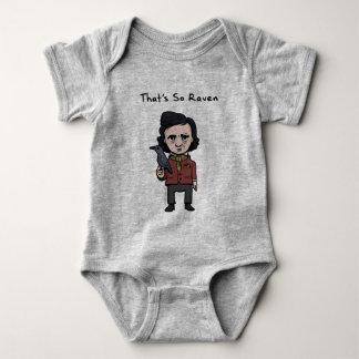 Kid Legends Young Edgar Allen Poe Baby Bodysuit