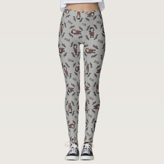 Kid Legends Young Edgar Allen Poe Leggings