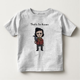 Kid Legends Young Edgar Allen Poe Toddler T-shirt