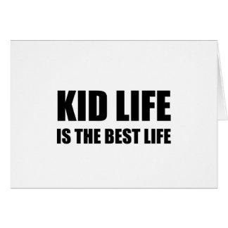 Kid Life Best Life Card
