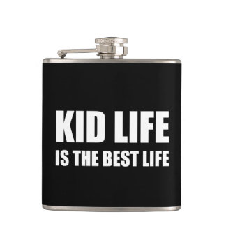 Kid Life Best Life Hip Flask