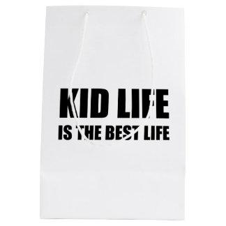 Kid Life Best Life Medium Gift Bag