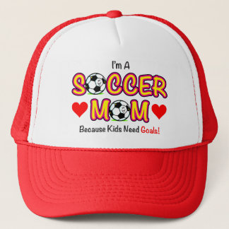 """Kid Need Goals"" Soccer Mom Hat"