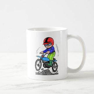 Kid on bike coffee mug