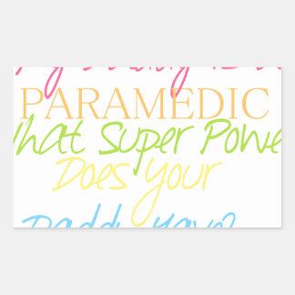 kid paramedic sticker