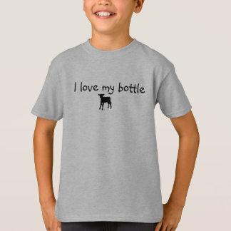 """Kid shirt """"I love my bottle calf"""""""