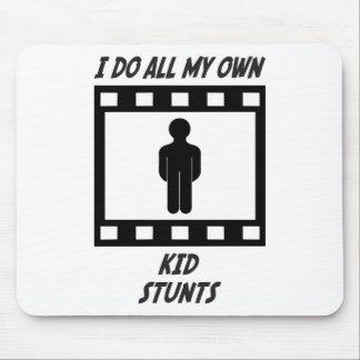 Kid Stunts Mouse Pad