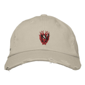 Kid Vicious Merch Rocks Embroidered Hat