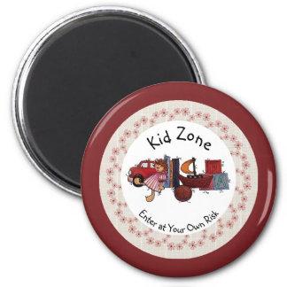 Kid Zone Magnet