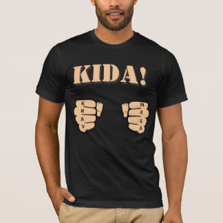 KIDA! t-shirt with fists