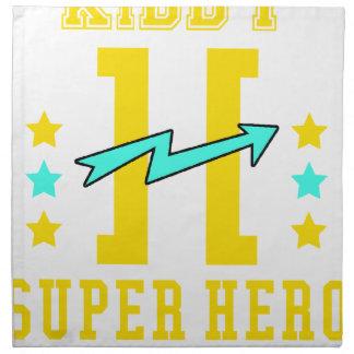 Kidd super hero workout training napkin