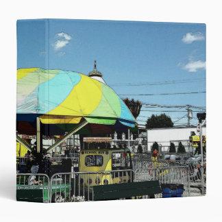 Kiddie Car and Truck Amusement Park Ride Vinyl Binders