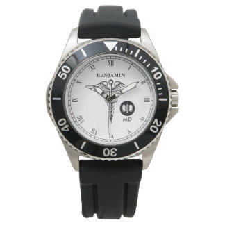 Kidney and Renal Specialist Personalized Name Watch