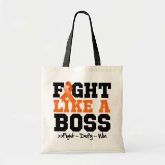 Kidney Cancer Fight Like a Boss Tote Bags