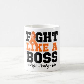 Kidney Cancer Fight Like a Boss Coffee Mugs