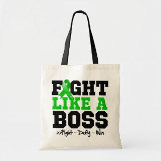 Kidney Cancer Fight Like Boss v2 Tote Bags