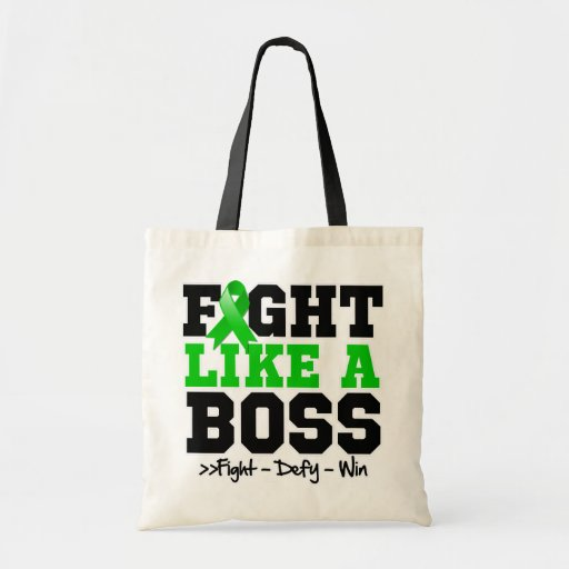 Kidney Cancer Fight Like Boss v2 Tote Bags