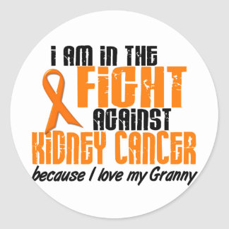 KIDNEY CANCER In The Fight For My Granny 1 Classic Round Sticker