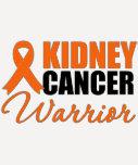 Kidney Cancer Warrior Awareness Ribbon Shirt