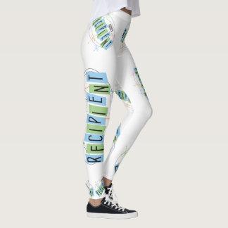 Kidney Recipient Retro Style Leggings
