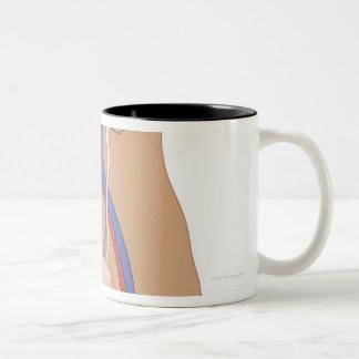 Kidney Transplant Two-Tone Coffee Mug