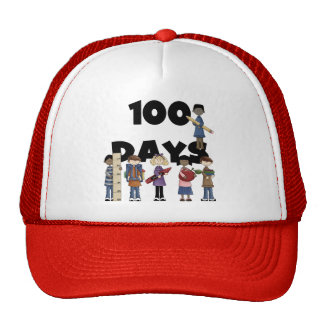 Kids 100 Days of School T-shirts and Gifts Trucker Hat