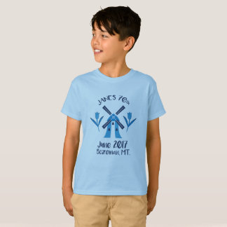 Kids 70th logo birthday T-shirt