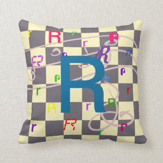 Kids ABC Alphabet Learning Reading CricketDiane R Throw Pillow