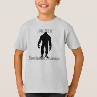 Kids Abominable Snowman T-Shirt