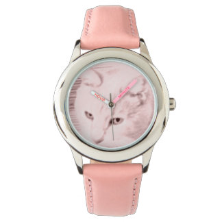 Kid's adorable Creamy the Cat watch
