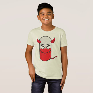 Kids' American Apparel Organic T-Shirt Red devil