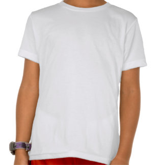 Kids American Apparel poly- cotton clue neck T shi T-shirt