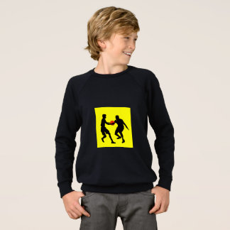 Kid's American Apparel Raglan Sweatshirt