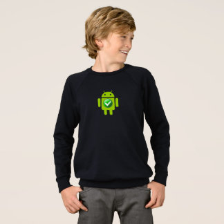 Kids' American Apparel Raglan Sweatshirt Android