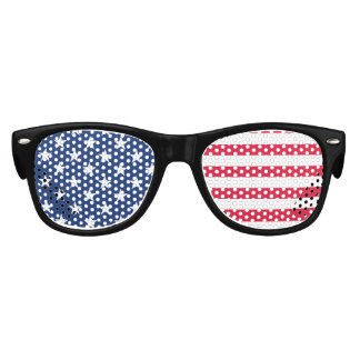 Kids American Flag Patriotic Stars and Stripes USA Kids Sunglasses