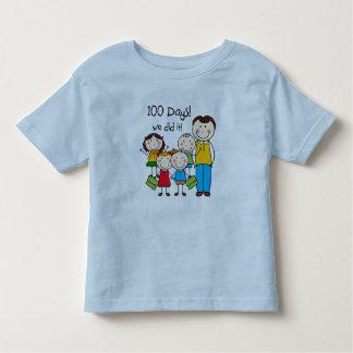 Kids and Male Teacher 100 Days Toddler T-shirt